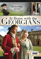 Picture of DVD cover for documentary on Georgian homes
