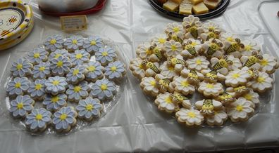Picture of decorated cookies